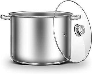 Ribelli Kochtopf Topf für ca. 20L - als Gulaschkessel, Suppentopf, Spargeltopf oder Soßentopf geeignet - praktischer Küchentopf für viele Herdarten außer Induktion