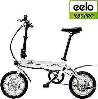 eelo 1885 Disc Bicicleta eléctrica Plegable, portátil y fácil de ...