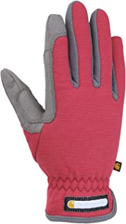 Carhartt Women's Work Flex Glove, Wild Rose Grey, Medium
