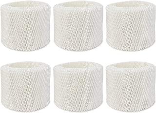 Extolife 6 Pack Replacement Humidifier Filter for Vicks & Kaz WF2 Humidifier V3100, V3500, V3500N, V3600, V3700, V3800, V3850, V3850JUV, V3900, V3900JUV, VEV320, 3020, ECM-250i, ECM-500, WA-8D