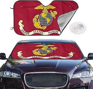 marine corps auto sunshade