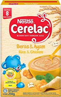 Nestle Cerelac Baby Food, Rice and Chicken, 250g