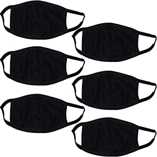Shivam Enterprises Dust Cotton Mouth Nose Cover Anti pollution Mask for Bullet Pack of 6