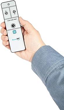 Fcp Power 360 Super Fan Cost Effective, Portable Design - Silver/Black with Remote Control