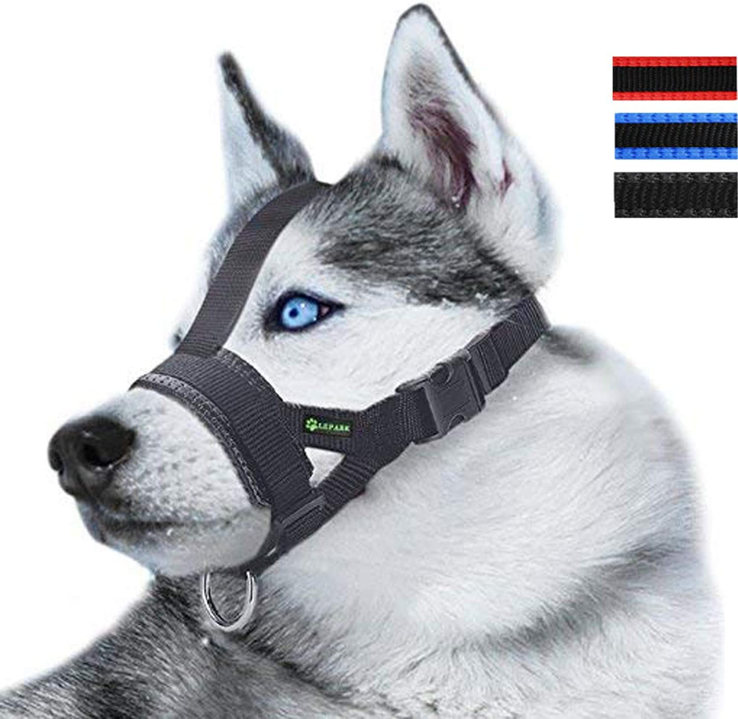 Nylon Dog Muzzle Challenge the lowest price Nashville-Davidson Mall for Small Medium Biting Large Prevent Dogs from