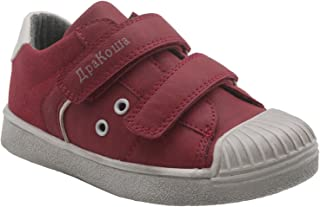 Ying-xinguang Kid's Shoe Casual Boy's Junior Touch Fastening Low-Top Sports Trainers Comfortable