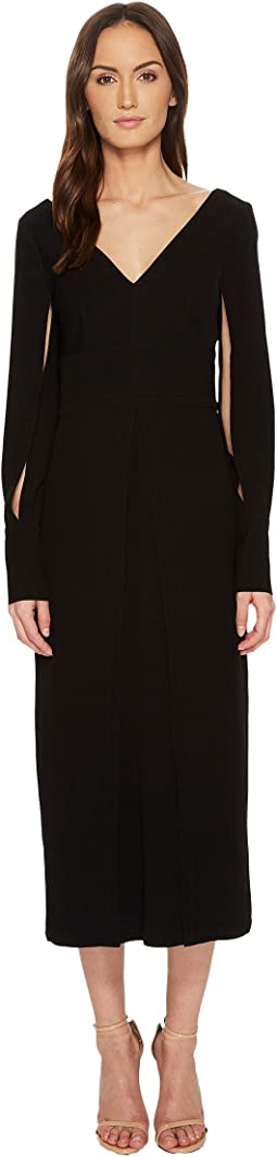 YIGAL AZROUËL - Polyester Double Satin Suiting Crepe Dress