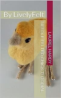 needle felt chick