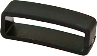 PERFIT Black Rubber Replacement Watch Band/Strap Loop