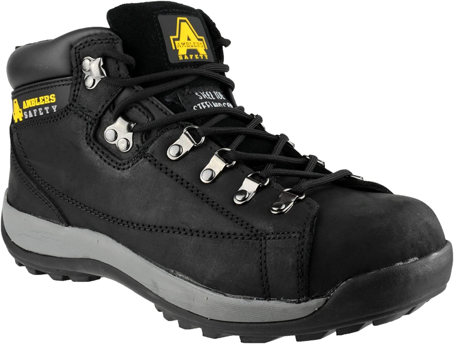 New Ladies Amblers Steel FS123 Safety Boot Womens Lace-Up shoes Safety Footwear