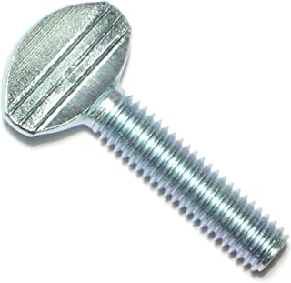 Thread Size 3//8-16 Thread Size 3//8-16 FastenerParts Steel Flanged Spade-Head Thumb Screw
