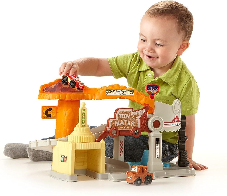 Mattel Y9856 Fisher Price Cars Wheelies Radiator Springs Spielset