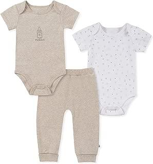 absorba Baby Boys 3 Pieces Bodysuit Pants Set