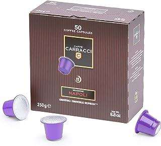 Caffè Carracci Capsule Compatibili Nespresso Napoli - 50 Unità