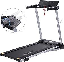 MaxKare Folding Treadmill Electric Motorized Running Machine with 15 Pre-Set Programs..