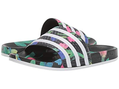 adidas Adilette (Core Black/Footwear White/Core Black) Women