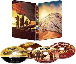 Han Solo/suta-・uxo-zu・suto-ri- K UHD movienex Steel Book (Limited Quantity) [K Ultra HD + 3d + Blu-Ray + Digital Copy + movienex World]