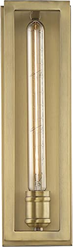 """2021 Savoy House 9-900-1-322 2021 Clifton 1-Light Wall Sconce (5"""" W sale x 16""""H) online sale"""