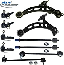 DLZ 10 Pcs Front Suspension Kit-2 Lower Control Arm 2 Lower Ball Joint 2 Inner 2 Outer Tie Rod End 2 Sway Bar Compatible with 1997 1998 1999 2000 2001 Toyota Camry Lexus ES300 1997 1998 Toyota Avalon