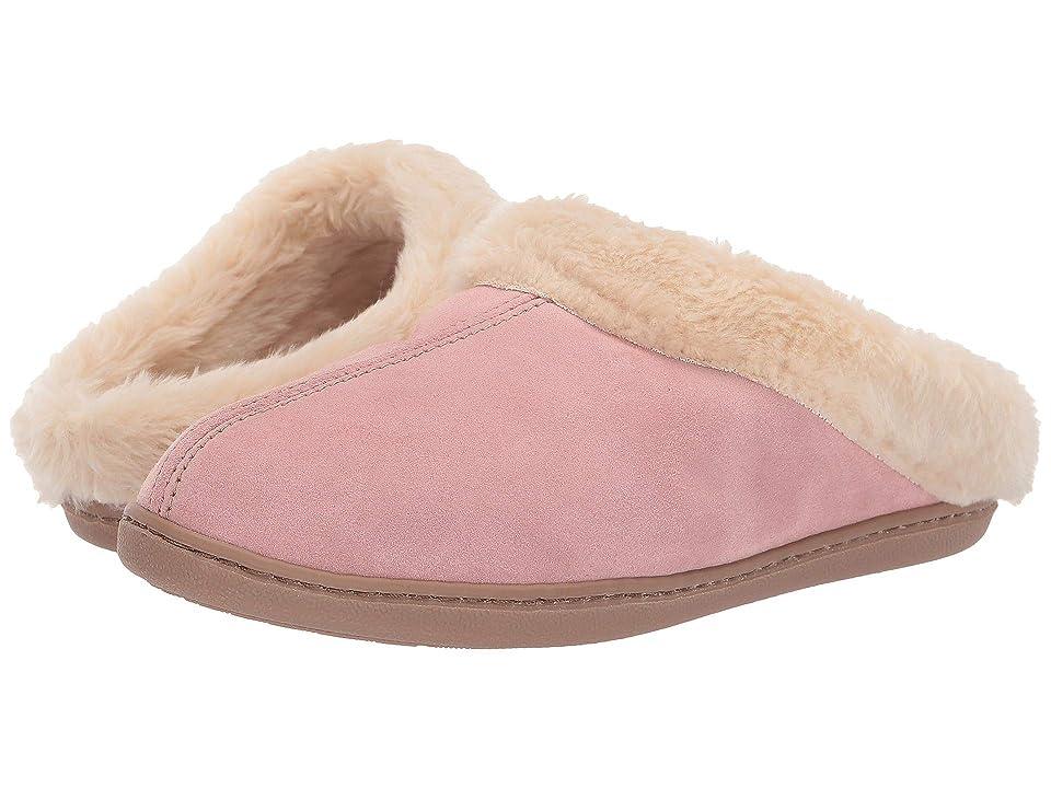 Minnetonka Pile Lined Scuff (Pink) Women