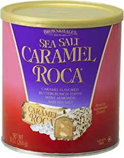 BROWN & HALEY Salted Caramel Almond Roca, 284 GR