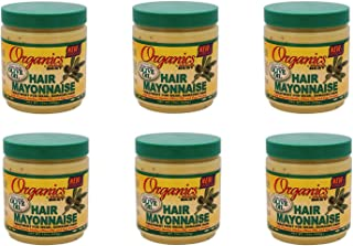 Africa's Best Organics Hair Mayonnaise 15 oz (Pack of 6)