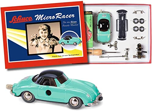 Schuco - 450177400 - Kit de Construction Modèle - Micro Racer - Porsche 356