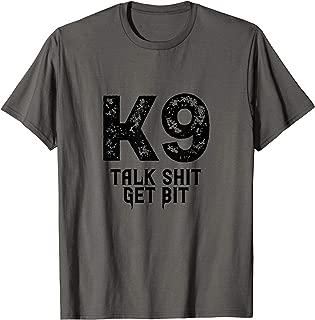 K9 Police T-shirt Sheriff K-9 Law Enforcement Military LEO T-Shirt