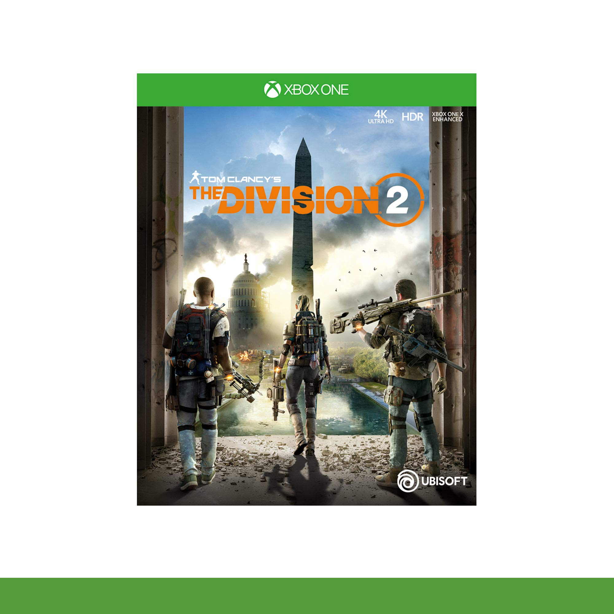 Microsoft Xbox One X + Tom Clancys The Division 2 Negro 1000 GB ...