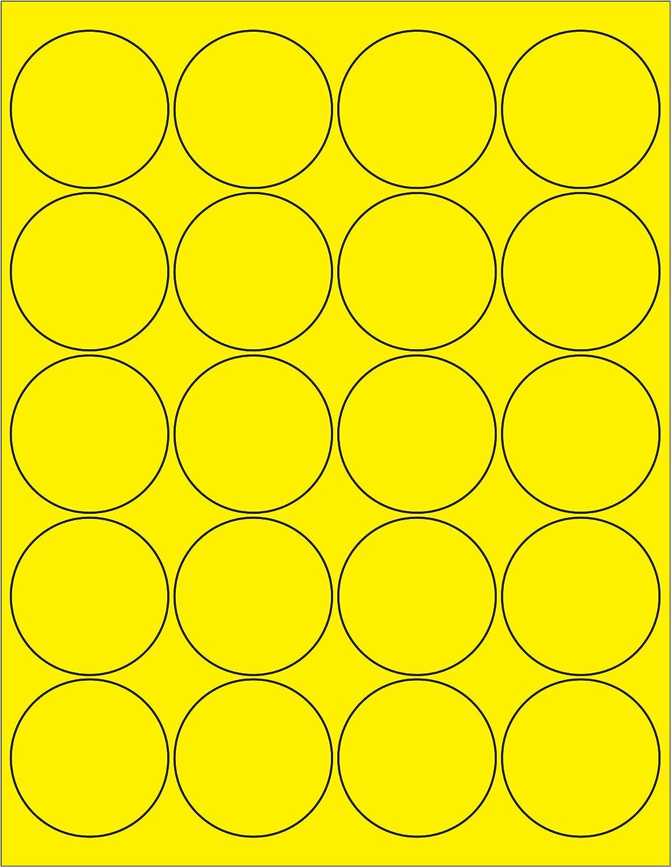 Tape Logic Circle Laser Labels, 2