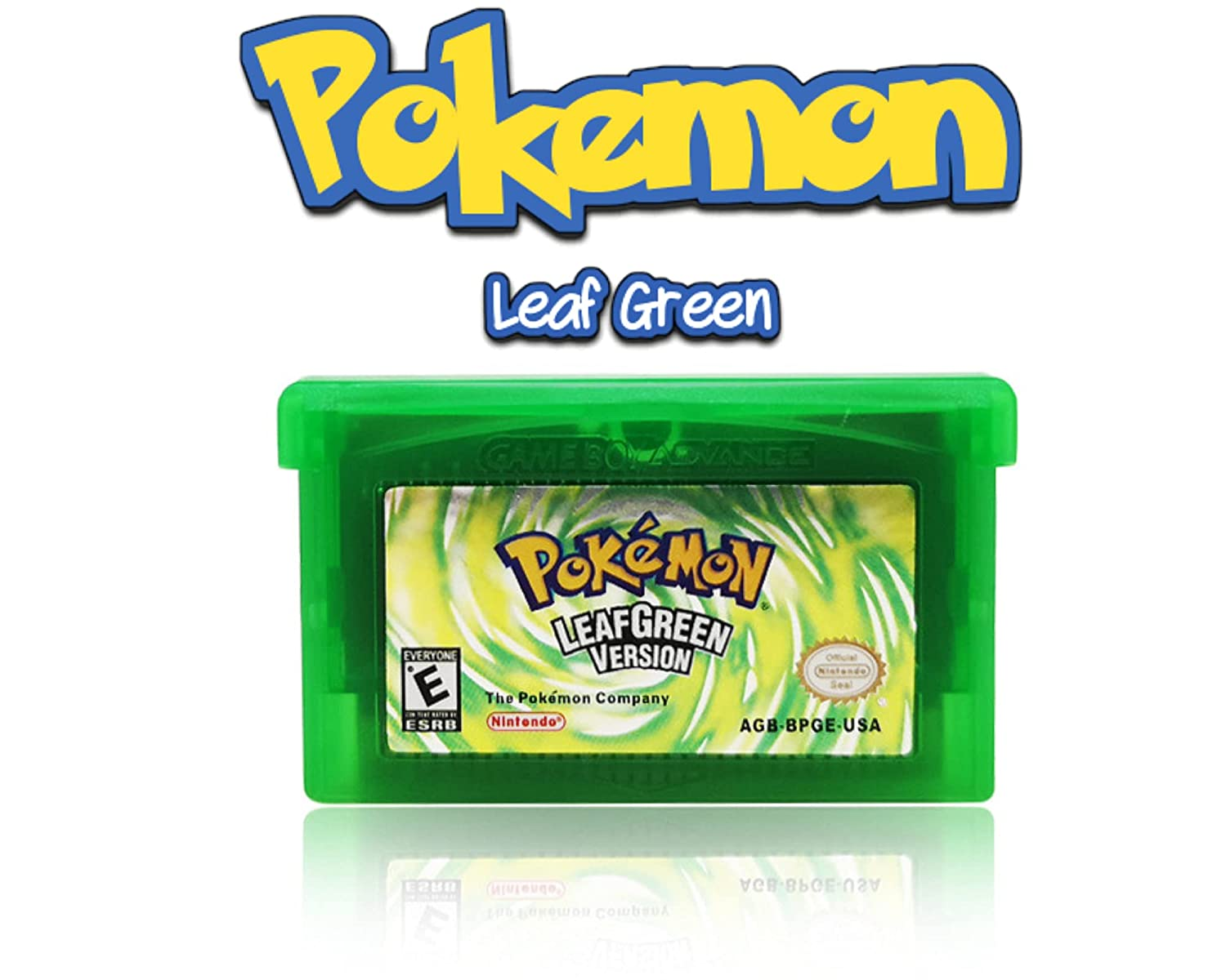 Game Cartridge Card Compatible for Ranking TOP3 Pokemon: C LeafGreen free shipping GBA