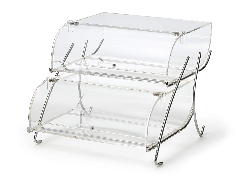 Rosseto BAK2937 2-Shelf Bakery Case Manufacturer regenerated product Recommended Clear Display