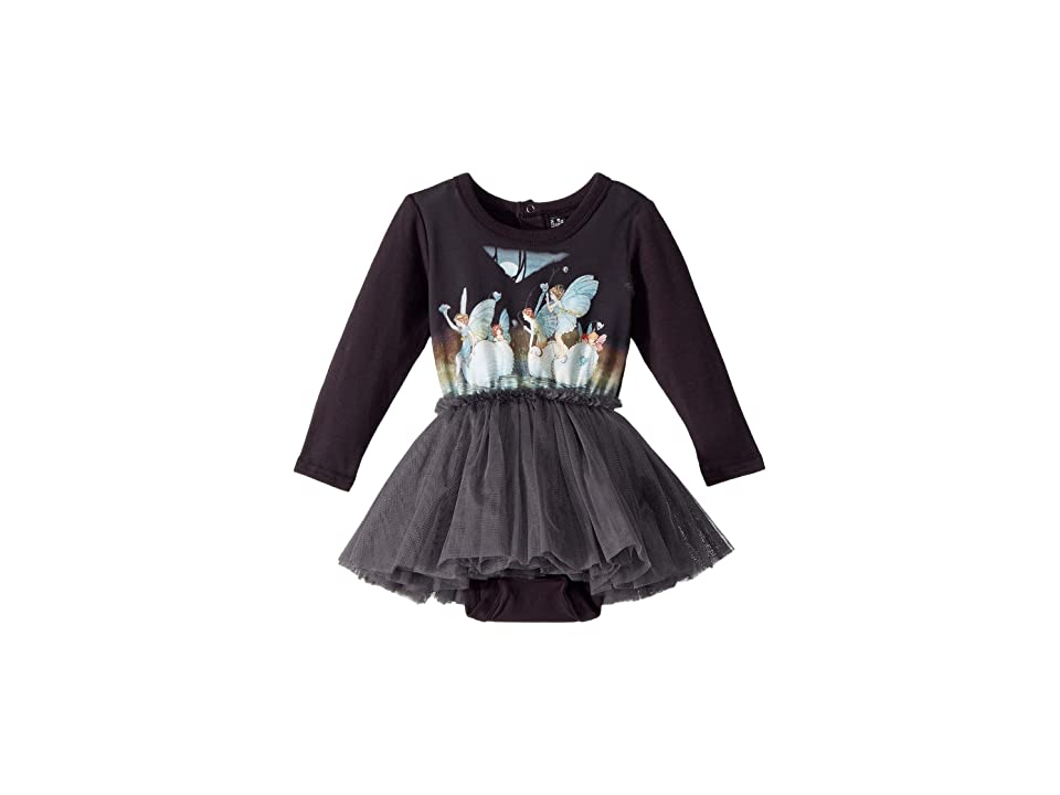 Rock Your Baby Night Sprites Circus Dress (Infant) (Dark Grey) Girl
