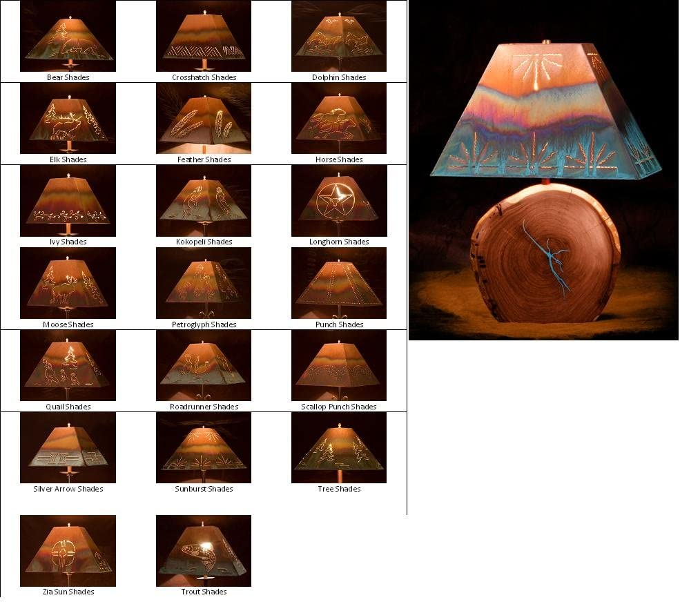 Mesquite Lamp with Copper Price Max 55% OFF reduction Shade - 24