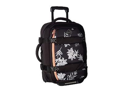 Roxy Wheelie Neoprene Suitcase (Anthracite) Carry on Luggage