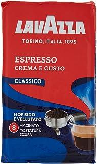 Lavazza Caffè Macinato per Macchina Espresso Crema e Gusto Classico - 4 Confezioni da 250 gr [1 Kg]