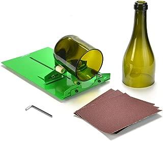 AGPTEK HS0073 Glass Bottle Cutter, Long Bottle Cutter DIY Cutting Machine Wine Bottles and Beer Bottles Cutting Tool (Upgrade Version)