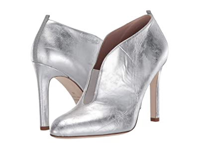 SJP by Sarah Jessica Parker Trois (Silver Metallic Leather) Women