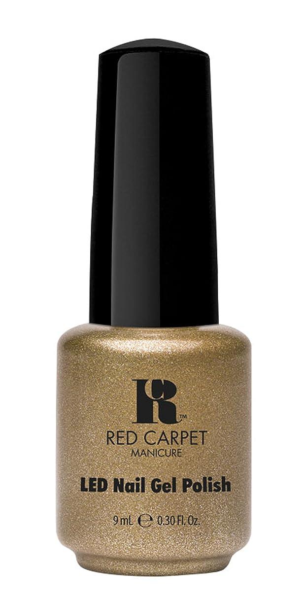 いくつかのジェム時間とともにRed Carpet Manicure - LED Nail Gel Polish - Magic Wand-erful - 0.3oz/9ml