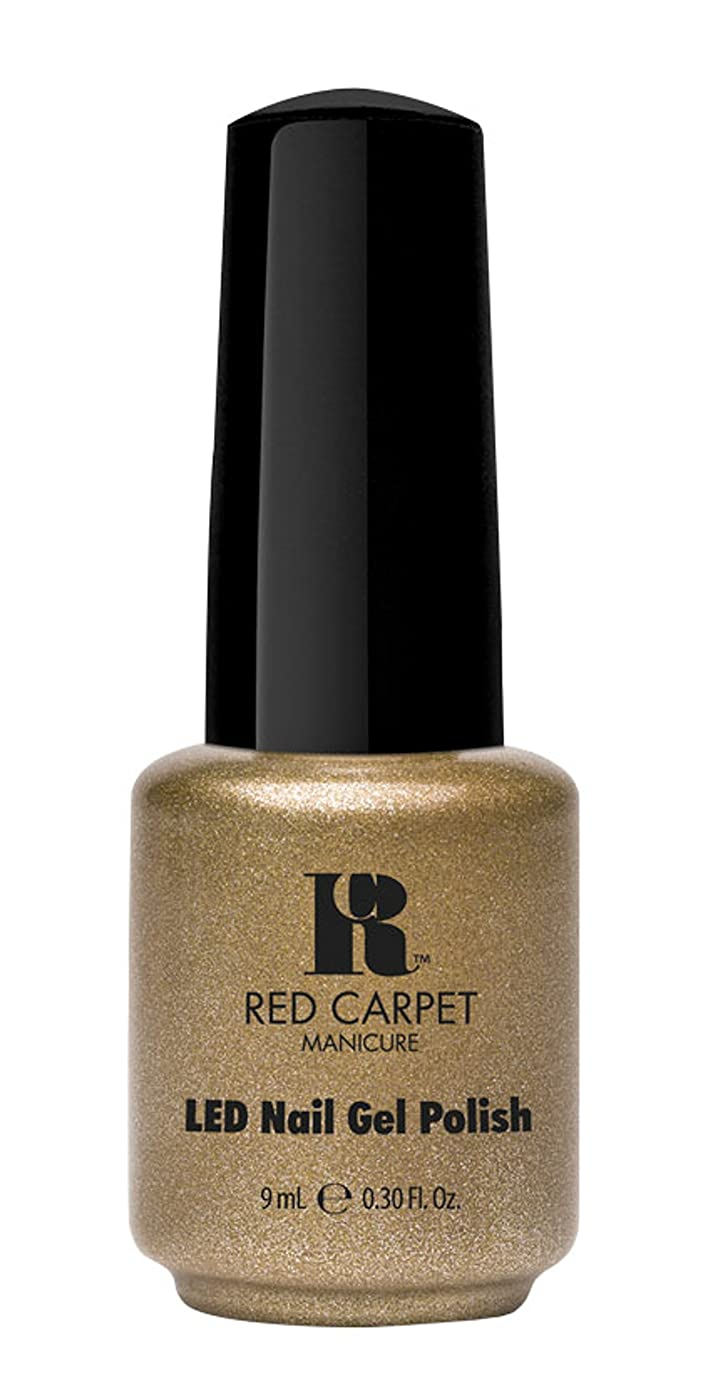 ファイバ分析的な発明するRed Carpet Manicure - LED Nail Gel Polish - Magic Wand-erful - 0.3oz/9ml