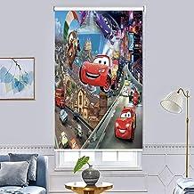 ستائر معتمة دوارة مصنوعة بطباعة ثلاثية الابعاد، ضد الماء لتغطية النافذة وتظليل الغرفة، لغرفة المعيشة وغرفة النوم (150 x 20...