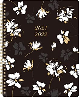 """2021 Planner - 2021 Weekly Monthly Planner with to Do List, 8"""" x 10"""", January 2021 - December 2021, Floral Cover with Twi..."""