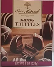 Harry & David Dark Chocolate Raspberry Truffles 8 oz