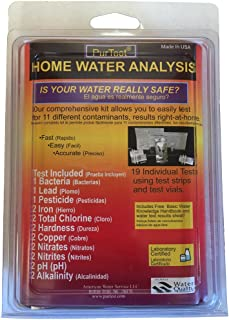 PurTest Home Drinking Water Test Kit - 11 Contaminants