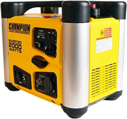 Champion 2000W Inverter Gasolina Generador electrógeno de emergencia Generadores de corriente EU
