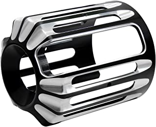 Senkauto Oil Filter Cover Cap Trim for Harley Touring Road Electra Street Glide Softail Fatboy FXSB FLST FXD (Type 2)
