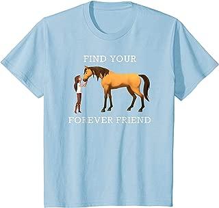 Kids DreamWorks Spirit Riding Free - Forever Friend Kids T-Shirt
