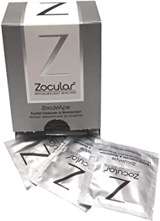 ZocuWipe for Dry, Red Eyes (30 ZocuWipe)