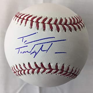 Taylor Trammell Signed Autographed Baseball Reds autograph coa V62825 - JSA Certified - Autographed Baseballs