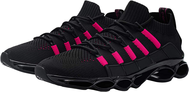 DYKHMILY Sicherheitsschuhe Herren Damen Stahlkappe Arbeitsschuhe Leicht Atmungsaktiv Sportlich Schutzschuhe Antishock Sneaker